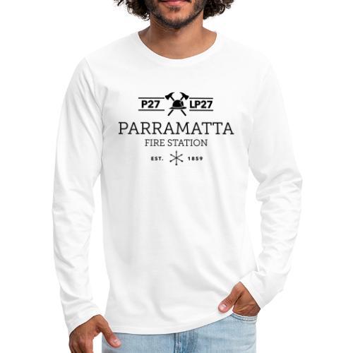 Parramatta Fire Station B - Men's Premium Long Sleeve T-Shirt