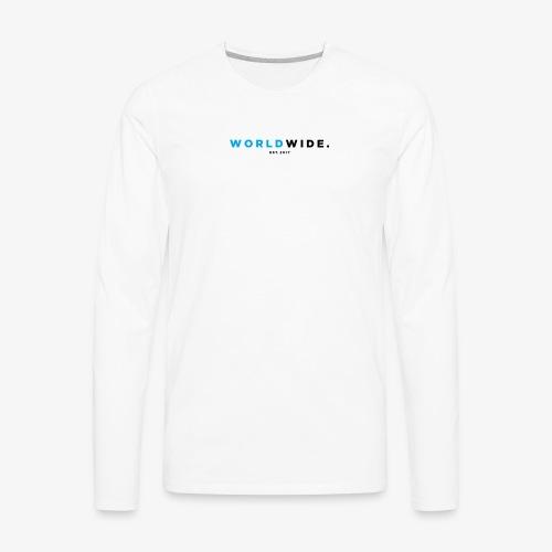 WEARWORLDWIDE - Men's Premium Long Sleeve T-Shirt
