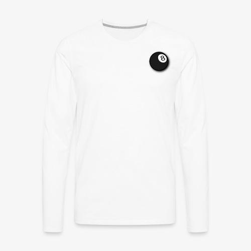 8 ball - Men's Premium Long Sleeve T-Shirt
