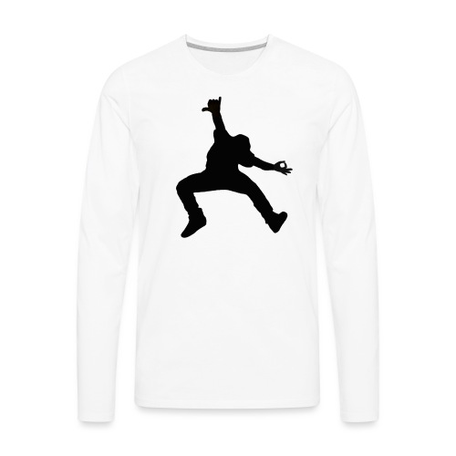 'OK' - Men's Premium Long Sleeve T-Shirt