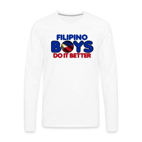 2020 Boys Do It Better 05 Filipino - Men's Premium Long Sleeve T-Shirt