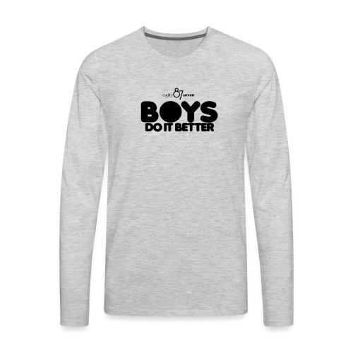 2020 Boys Do It Better 01 Plain 87 - Men's Premium Long Sleeve T-Shirt