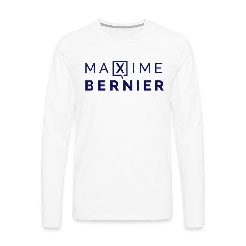Maxime Bernier campaign logo - Men's Premium Long Sleeve T-Shirt