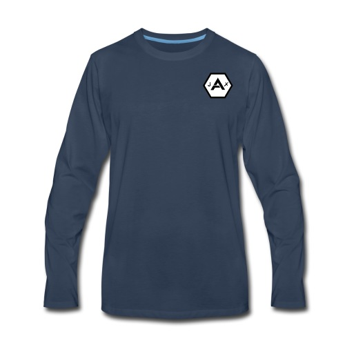 TSG JaX logo - Men's Premium Long Sleeve T-Shirt