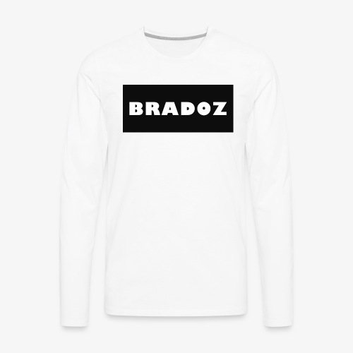 BRADOZ SHIRT LOGO - Men's Premium Long Sleeve T-Shirt