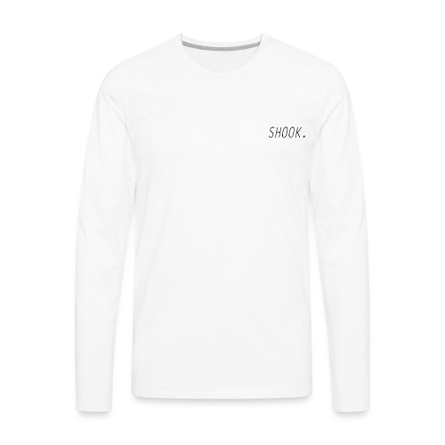 Shook. #1 - Men's Premium Long Sleeve T-Shirt