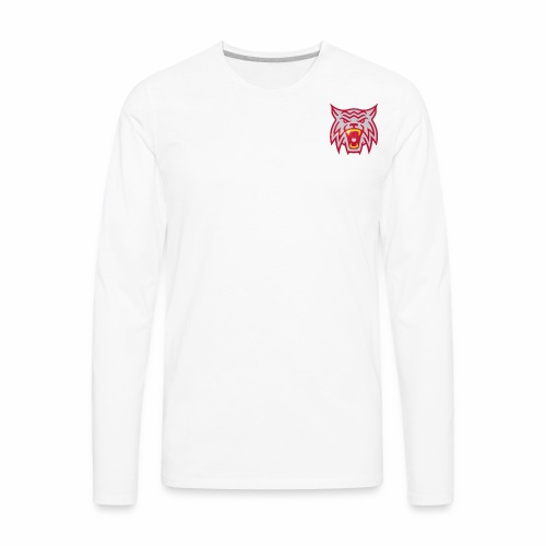 Hoodrow Wilson Wildcats - Men's Premium Long Sleeve T-Shirt