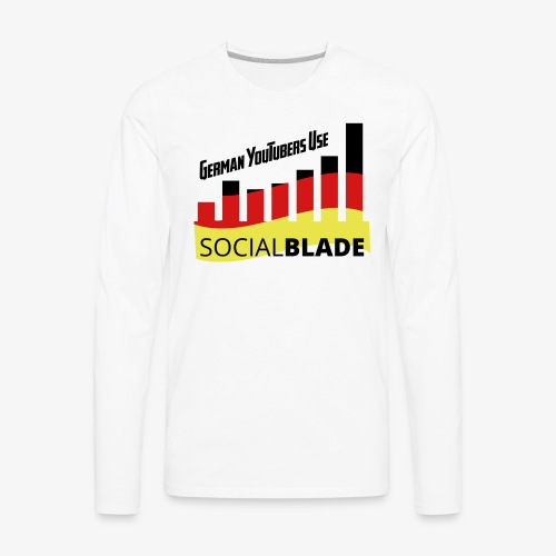 German YouTubers - Men's Premium Long Sleeve T-Shirt