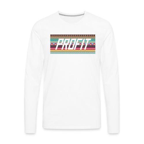 Profit - Aztec Limited Edition - Men's Premium Long Sleeve T-Shirt