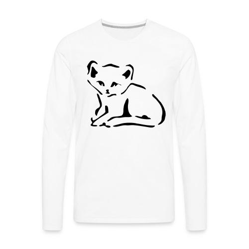 Kitty Cat - Men's Premium Long Sleeve T-Shirt