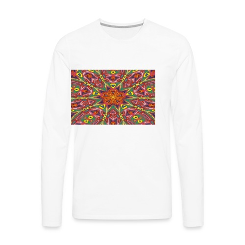 Donation of Super Energy Mug - Men's Premium Long Sleeve T-Shirt