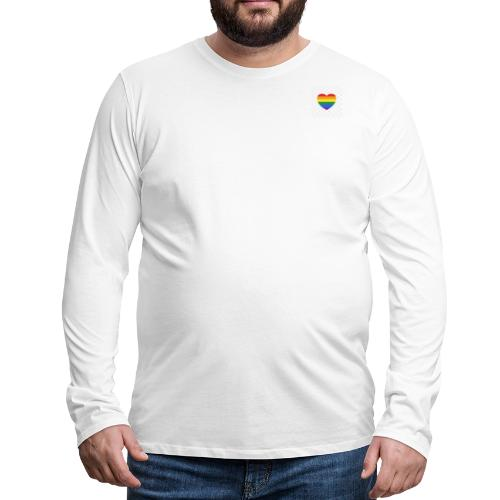 LGBTQ Heart Products - Men's Premium Long Sleeve T-Shirt