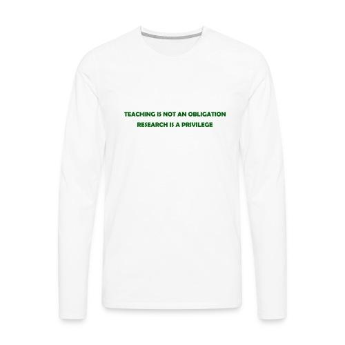 Teaching - Men's Premium Long Sleeve T-Shirt