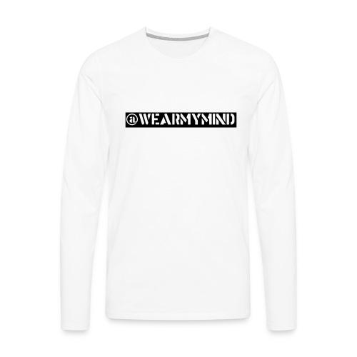 #Honesty - Men's Premium Long Sleeve T-Shirt