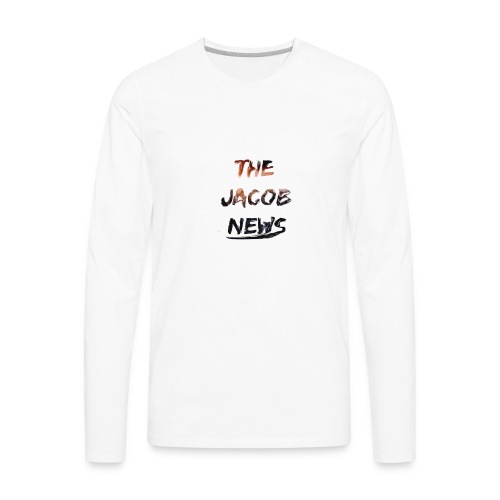 jacob news - Men's Premium Long Sleeve T-Shirt