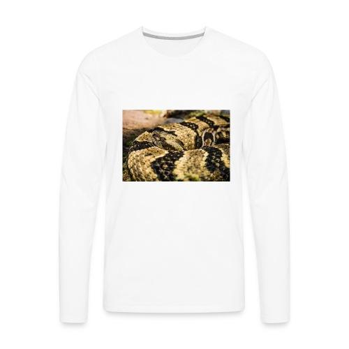 SNAKE B. - Men's Premium Long Sleeve T-Shirt