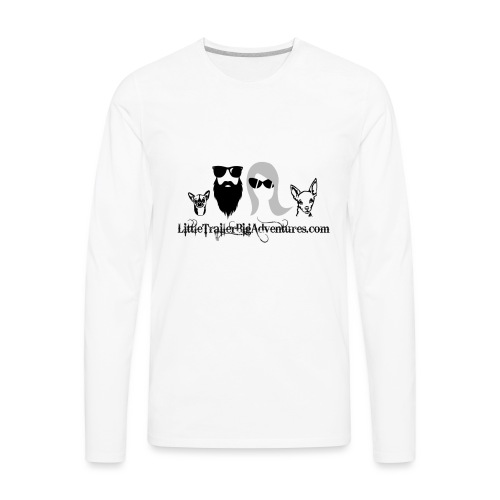 LTBA Heads Logo - Men's Premium Long Sleeve T-Shirt