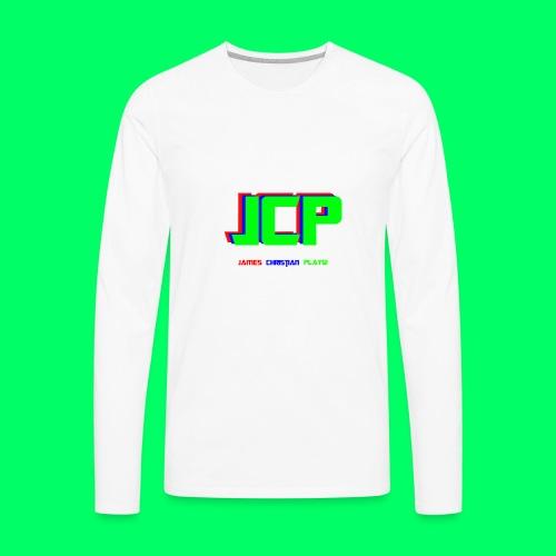 James Christian Plays! Original Set - Men's Premium Long Sleeve T-Shirt