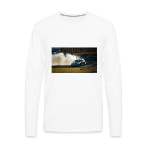 nissan skyline gtr drift r34 96268 1280x720 - Men's Premium Long Sleeve T-Shirt