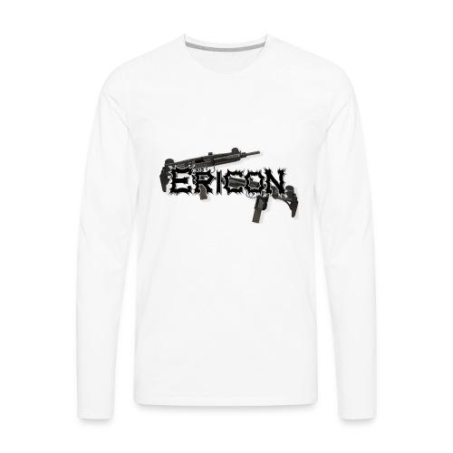 Ericon Beats Uzi Logo - Men's Premium Long Sleeve T-Shirt