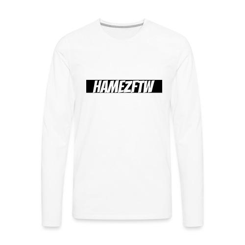 pink-youtube-banner-template_18772 - Men's Premium Long Sleeve T-Shirt