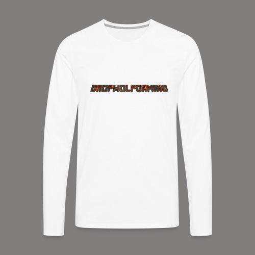 DropWolfGaming - Men's Premium Long Sleeve T-Shirt