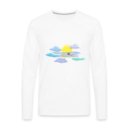 Sea of Clouds - Men's Premium Long Sleeve T-Shirt