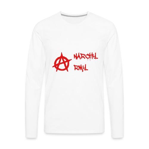 Anarchy Army LOGO - Men's Premium Long Sleeve T-Shirt