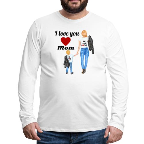 Mother's day gift from daughter, Mother's Day Gift - Men's Premium Long Sleeve T-Shirt