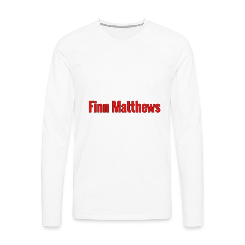 FM Logo - Men's Premium Long Sleeve T-Shirt