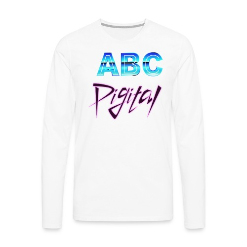 ABCDigital - Men's Premium Long Sleeve T-Shirt