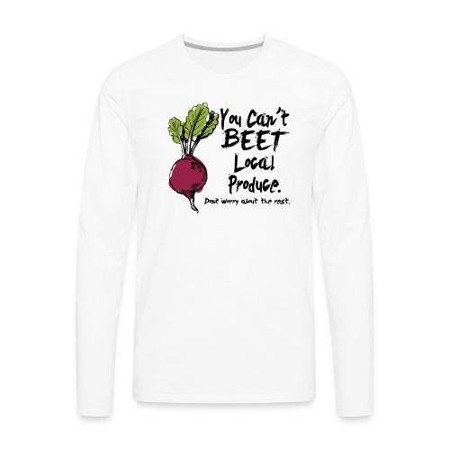 You can't beet copy - Men's Premium Long Sleeve T-Shirt