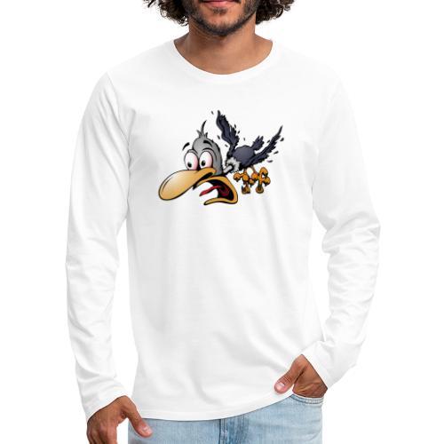Crazy Bird - Men's Premium Long Sleeve T-Shirt