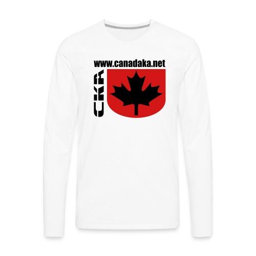 CKA Back 2 - Men's Premium Long Sleeve T-Shirt
