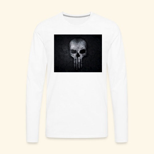 skull and crossbones 2077840 1920 - Men's Premium Long Sleeve T-Shirt