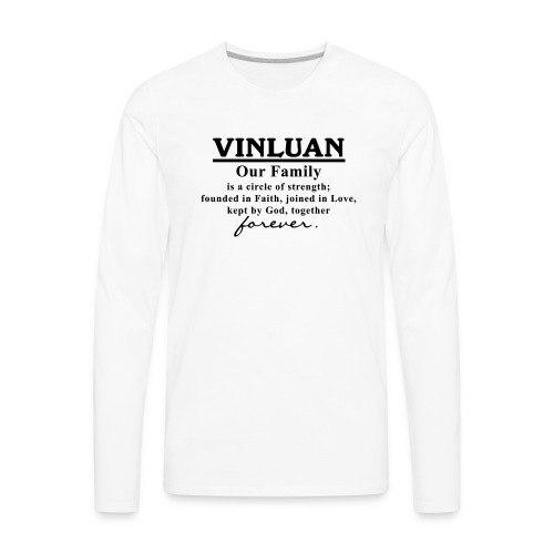 Vinluan Family 01 - Men's Premium Long Sleeve T-Shirt