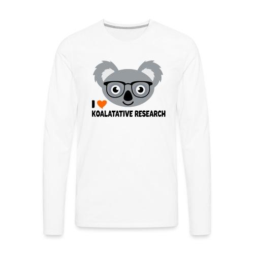Koalatative Research - Men's Premium Long Sleeve T-Shirt