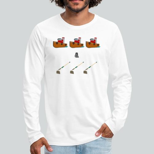 Boats and Hoes - Men's Premium Long Sleeve T-Shirt