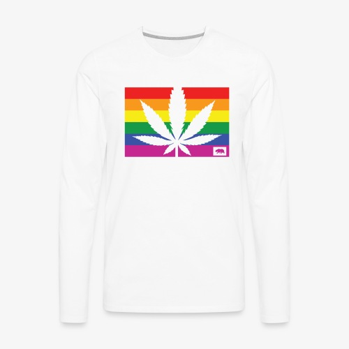 California Pride - Men's Premium Long Sleeve T-Shirt