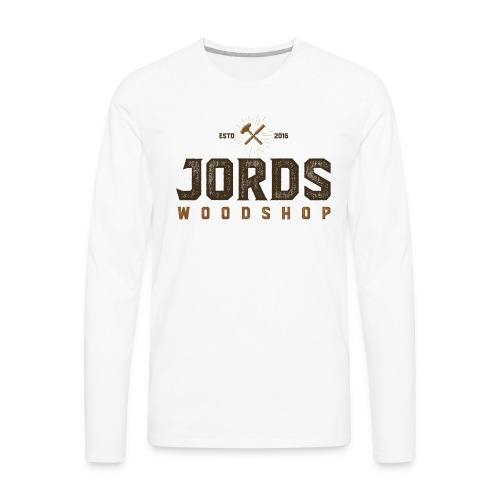 New Age JordsWoodShop logo - Men's Premium Long Sleeve T-Shirt