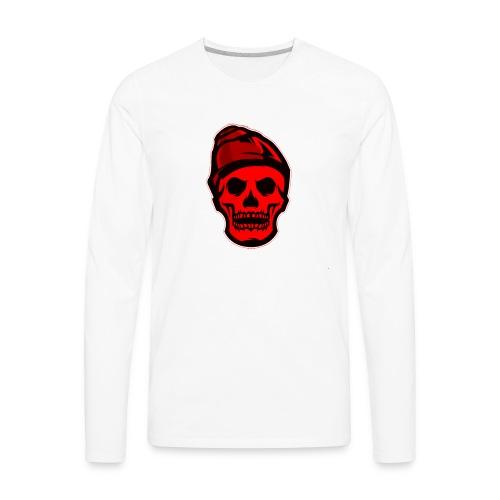 RED Skeleton HaHaHaHa - Men's Premium Long Sleeve T-Shirt