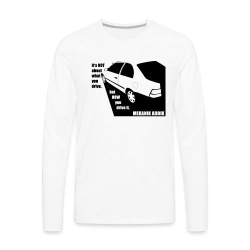 MekAddikCompact2 - Men's Premium Long Sleeve T-Shirt