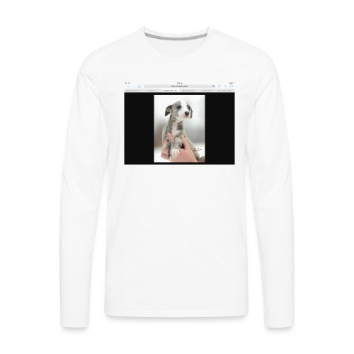 Whippet - Men's Premium Long Sleeve T-Shirt