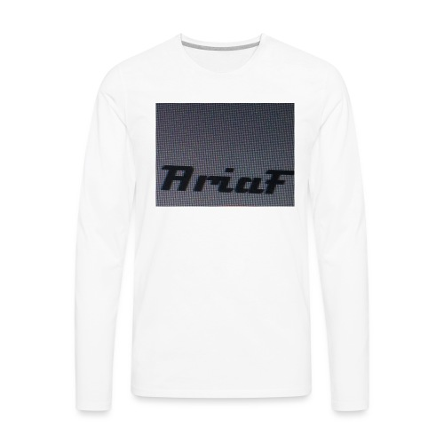 An awful shirt - Men's Premium Long Sleeve T-Shirt