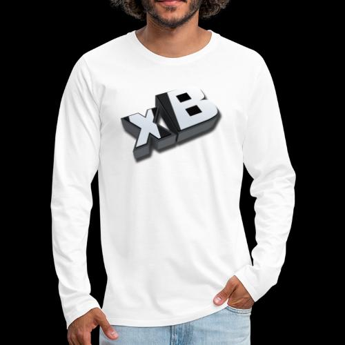 xB Logo - Men's Premium Long Sleeve T-Shirt