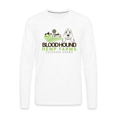 BloodhoundHempFarms - Men's Premium Long Sleeve T-Shirt