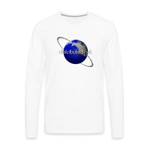 full logo border - Men's Premium Long Sleeve T-Shirt