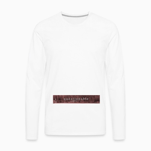 2017-10-13 limited first drop - Men's Premium Long Sleeve T-Shirt