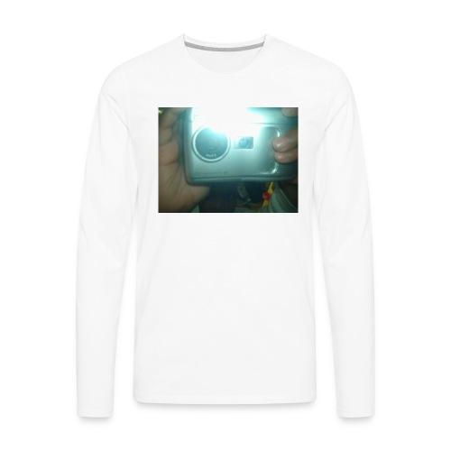 say smile - Men's Premium Long Sleeve T-Shirt