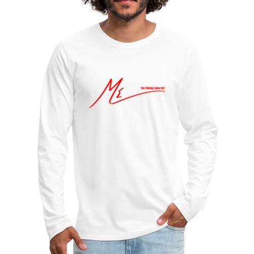 output onlinepngtools 3 - Men's Premium Long Sleeve T-Shirt